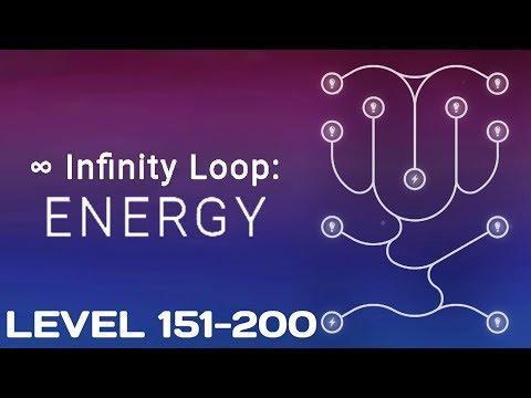 Infinity Loop: ENERGY - Level 151-200 Solutions