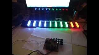 Audioritmica Vumetro LED LEDs Potencia gigante - www.LEDFACIL.com.ar