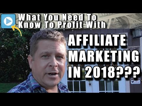 Affiliate Marketing 2018... What The Affiliate Millionaire Club Knows That You Don't...
