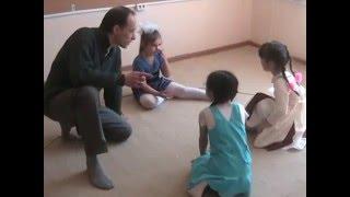 Театральное занятие с дошкольниками. Открытый урок. Первый год обучения.