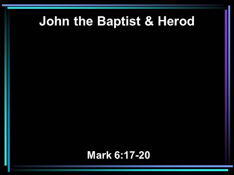 John the Baptist and Herod