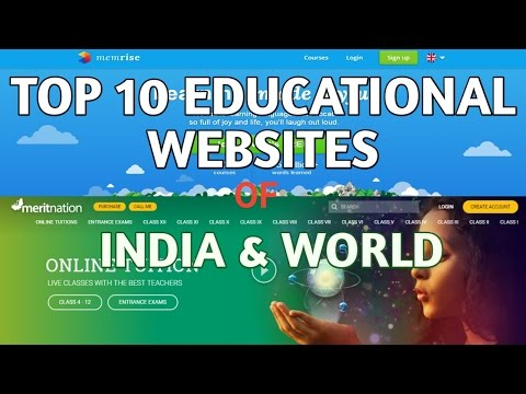 Best  Educational Websites Of India |  Best Learning Websites Of World | Full Details | Hindi.