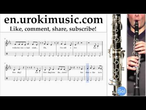 Clarinet lessons Green Day  Still Breathing Part#2 um352