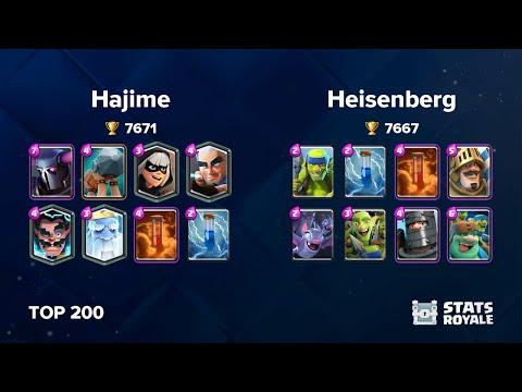 Hajime Vs Heisenberg [TOP 200]