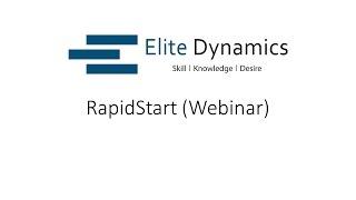 Elite Dynamics UK- RapidStart (Webinar)