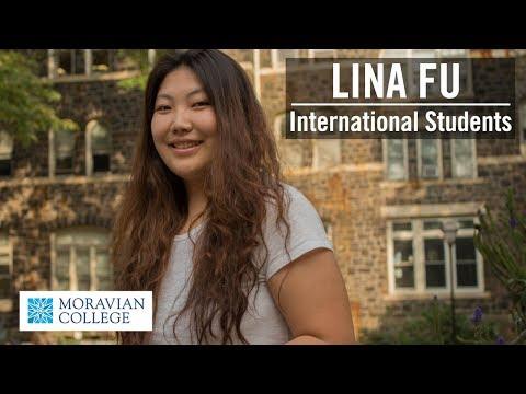 Lina Fu | International Students at Moravian College