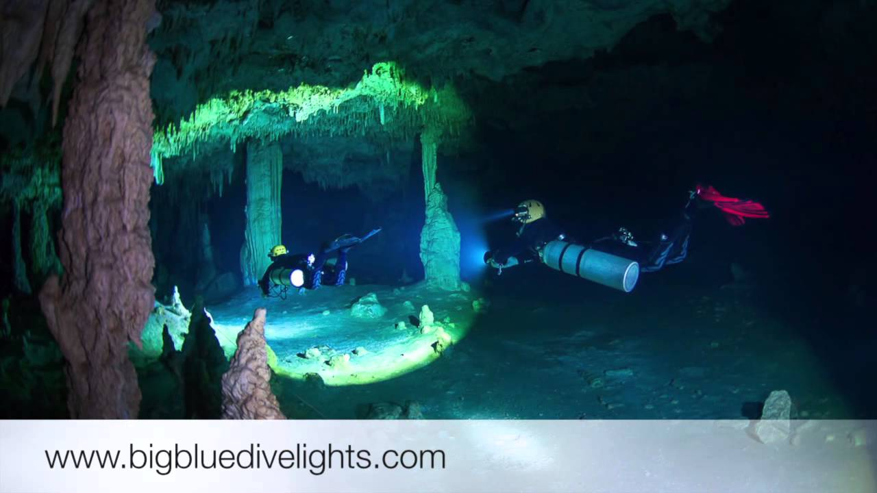 Cave Diving In The Yucatan Peninsula Mexico  YouTube