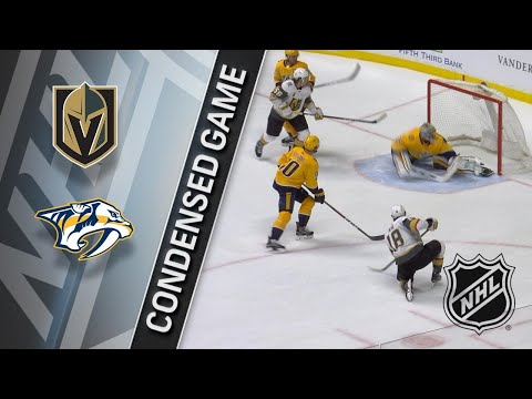 12/08/17 Condensed Game: Golden Knights @ Predators