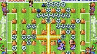Bomberman Battle Mode Gameplay (Sega Saturn)