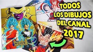 TODOS MIS DIBUJOS HECHOS EN 2017 DibujAme Un REWIND #2 Epic Win