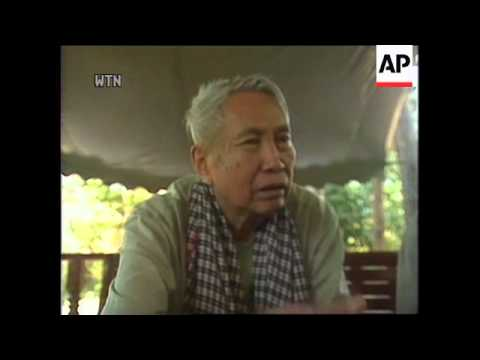 Cambodia - Pol Pot interview