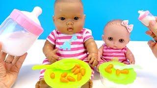БОЛЬШОЙ И МАЛЕНЬКИЙ Пупсики Играем в Куклы Какмама Детский Канал