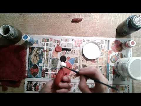 DIY Toy Train and Stop Sign Part 3