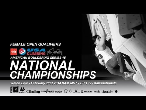 ABS 15 National Championships • Female Open Qualifiers