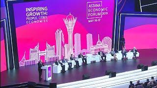 Watch again: Astana Economic Forum 2019 | Inspiring growth: people, cities and economies