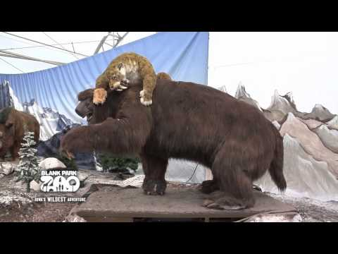 Ice Age Mammals at Blank Park Zoo Through June 10