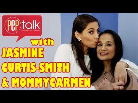 PEP TALK. Jasmine Curtis-Smith and Mommy Carmen full interview