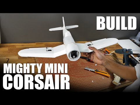 FT Mighty Mini Corsair - BUILD | Flite Test