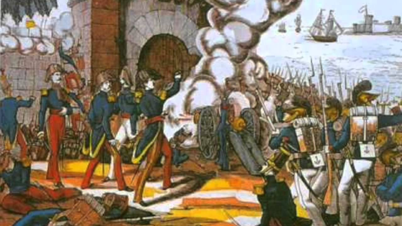 Santa Anna 1835 1855 Youtube