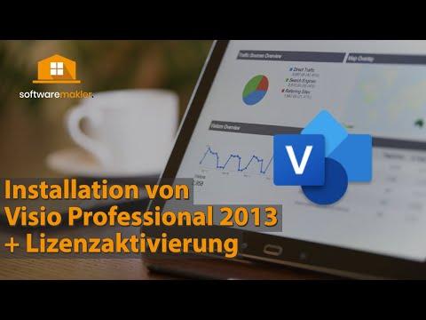 Wie installiere ich MS Visio Professional 2013? Schritt-für-Schritt Anleitung für Windows
