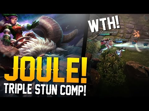 Vainglory - Road to Vainglorious [Gold]: TRIPLE STUN COMP!! Joule |WP| Lane Gameplay