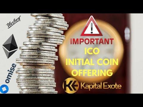 KRYPTOKURS - ICO - Was ist ein ico? INITIAL COIN OFFERING ico cryptocurrency deutsch token sale