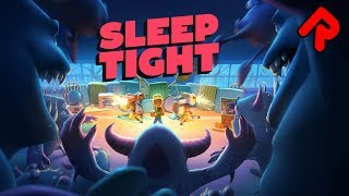 SLEEP TIGHT gameplay: Childhood Tower Defence with PILLOW FORTS! (PC, Nintendo Switch)