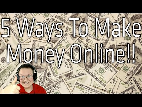 5 Ways To Make Extra Money Online (How To Make Money Online)