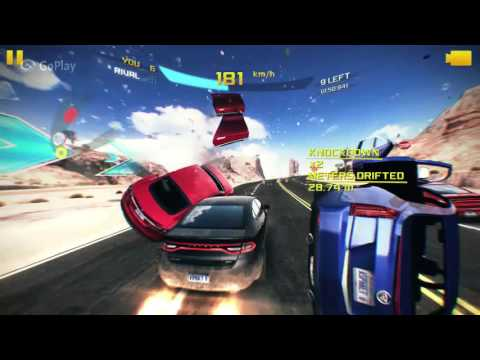 Asphalt 8: Nevada Knock-Down | Chatting with BF & Racing