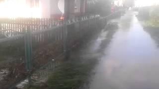 Паводок в Краснощеково Алтайского края