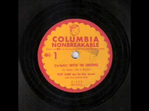Ricky Zahnd - I'm Gettin' Nuttin' for Christmas (1955)