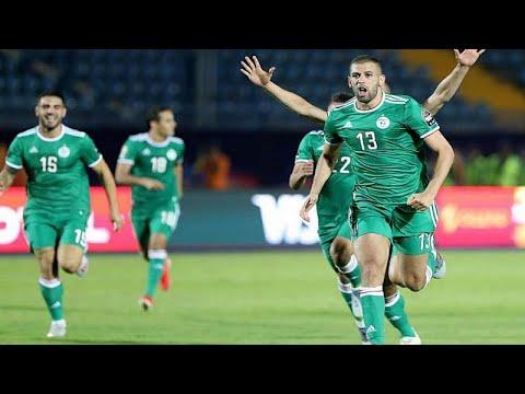 بعد التأهل إلى نهائي أمم إفريقيا .. شاهد ردود أفعال لاعبي المنتخب الجزائري …  - 11:53-2019 / 7 / 15