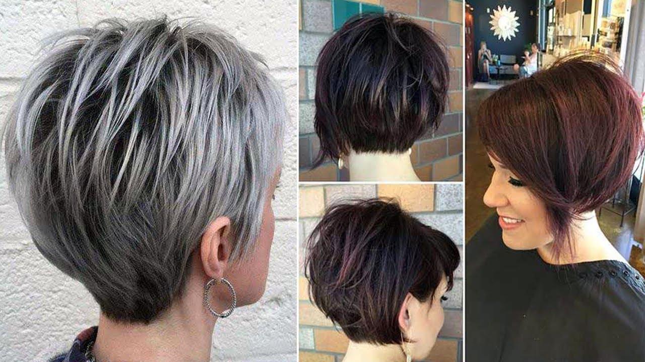 newest short haircuts women