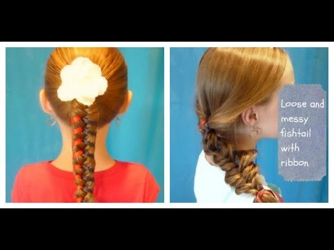 colorful-fishtail-braid,-ponytail-hairstyles