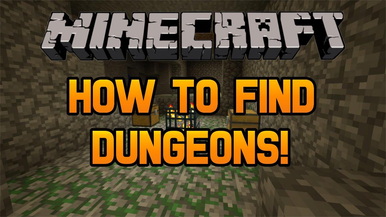 Minecraft How To Find Dungeons In Under 5 Minutes