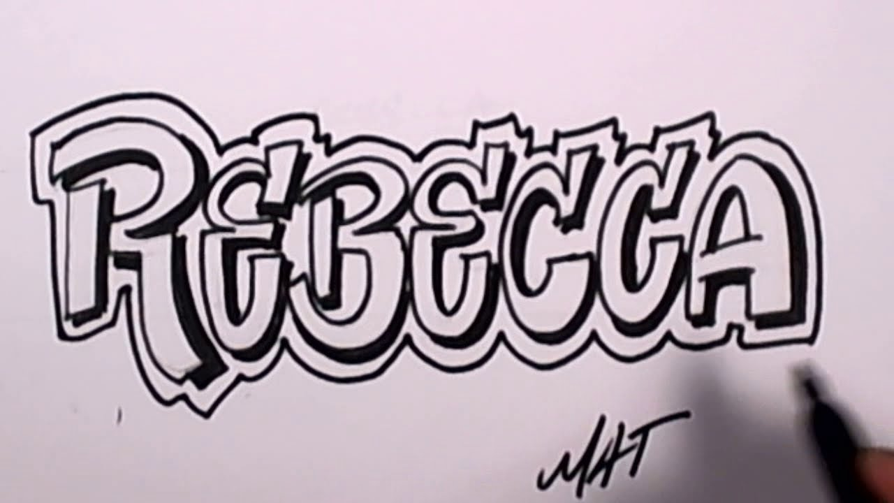 Graffiti writing rebecca name design 47 in 50 names promotion mat graffiti writing rebecca name design 47 in 50 names promotion mat youtube expocarfo