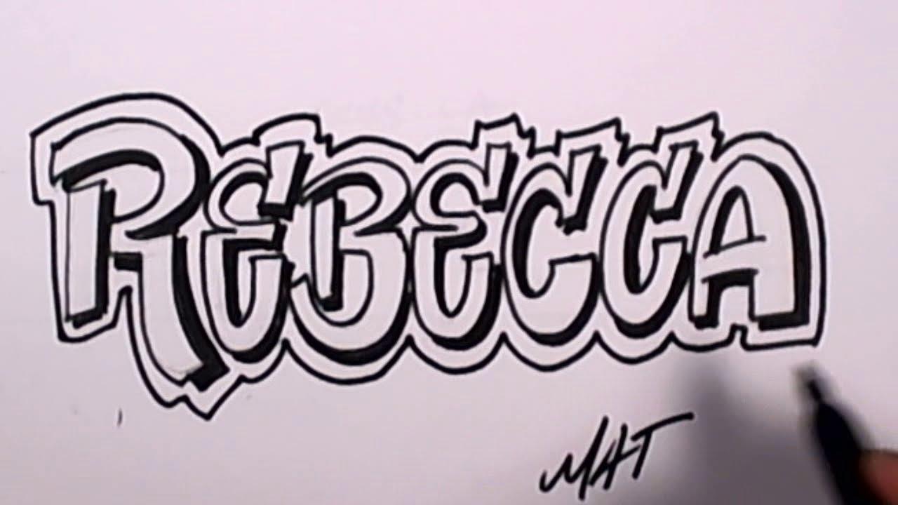 V Letter 3d Wallpaper Graffiti Writing Rebecca Name Design 47 In 50 Names