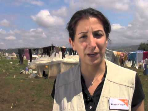 Difficult living conditions for Syrian refugees in Lebanon