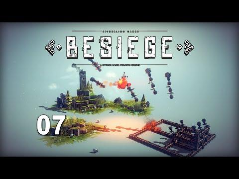 Besiege 07 - Lance missile sur Ipsilon zone 7