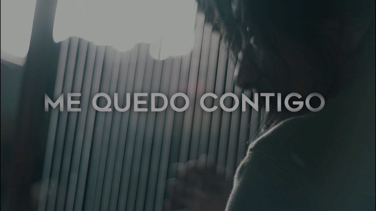 Juan Fernando Velasco - Me Quedo Contigo (Lyric Video)