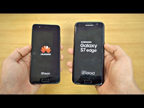 Huawei P10 vs Samsung Galaxy S7 Edge - Speed Test! (4K)