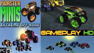 Monster Minis Extreme Off Road Gameplay - 7 Tracks PC HD