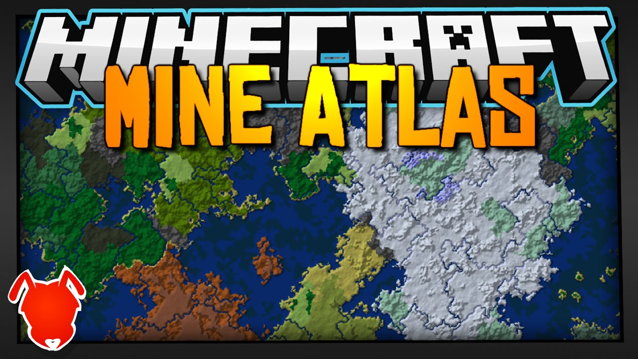 Minecraft Seed Atlas See Your Entire World Youtube
