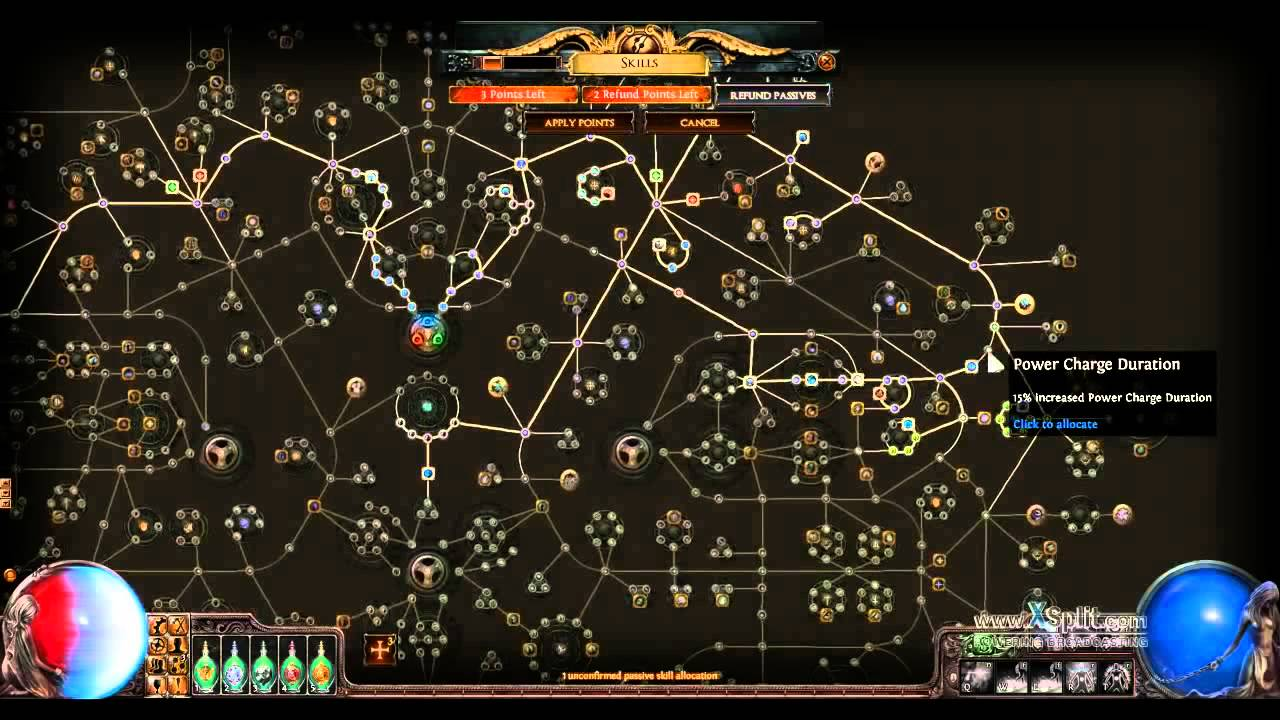 Path Of Exile Scion Mage Build