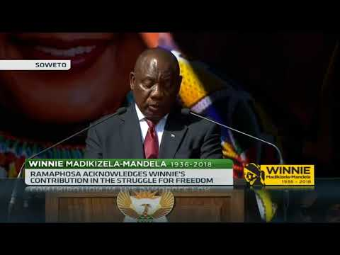 Mam Winnie lived a life of service and compassion – President Ramaphosa