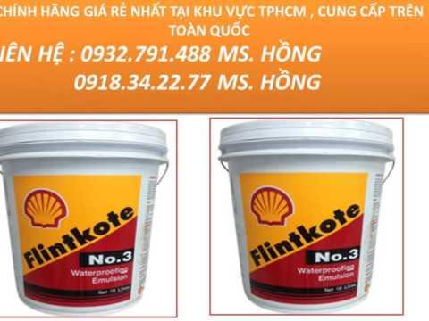 Đại Lý Sơn Chống Thấm Flinkote No.3 Gía Rẻ 0932791488 Hồng , Sơn Con Sò Thái Lan