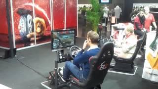 Essen Motor Show 2012 RaceRoom Tagesplatz.2 und Messenplatz.3 (Gameplay)