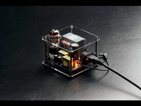 HitOn Audio SF-901 Tube Headphone Amplifier Power kit DIY SF-901耳擴電源kit組裝影片