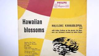 Haleloke Kahauolopua with Arthur Godfrey - Hawaiian War Chant