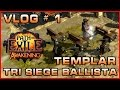 PoE | Vlog # 1 | Templar Tri Siege Ballista Totem Build